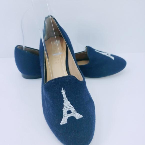 Talbots Shoes - Talbots Flats Ballerina Blue